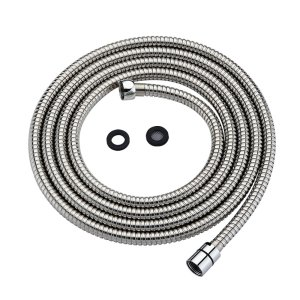 Purelux Shower Head Hose 118 Inches (10 Feet) Extra Long Handheld Showerhead Extension, Universal Replacement Made of Stainless Steel Polished Chrome