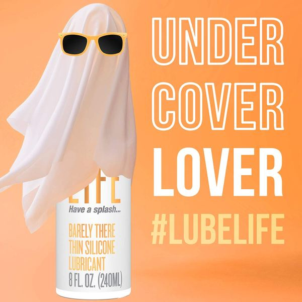 #Lubelife Thin Silicone Based Long Lasting Lubricant, 8 Oz