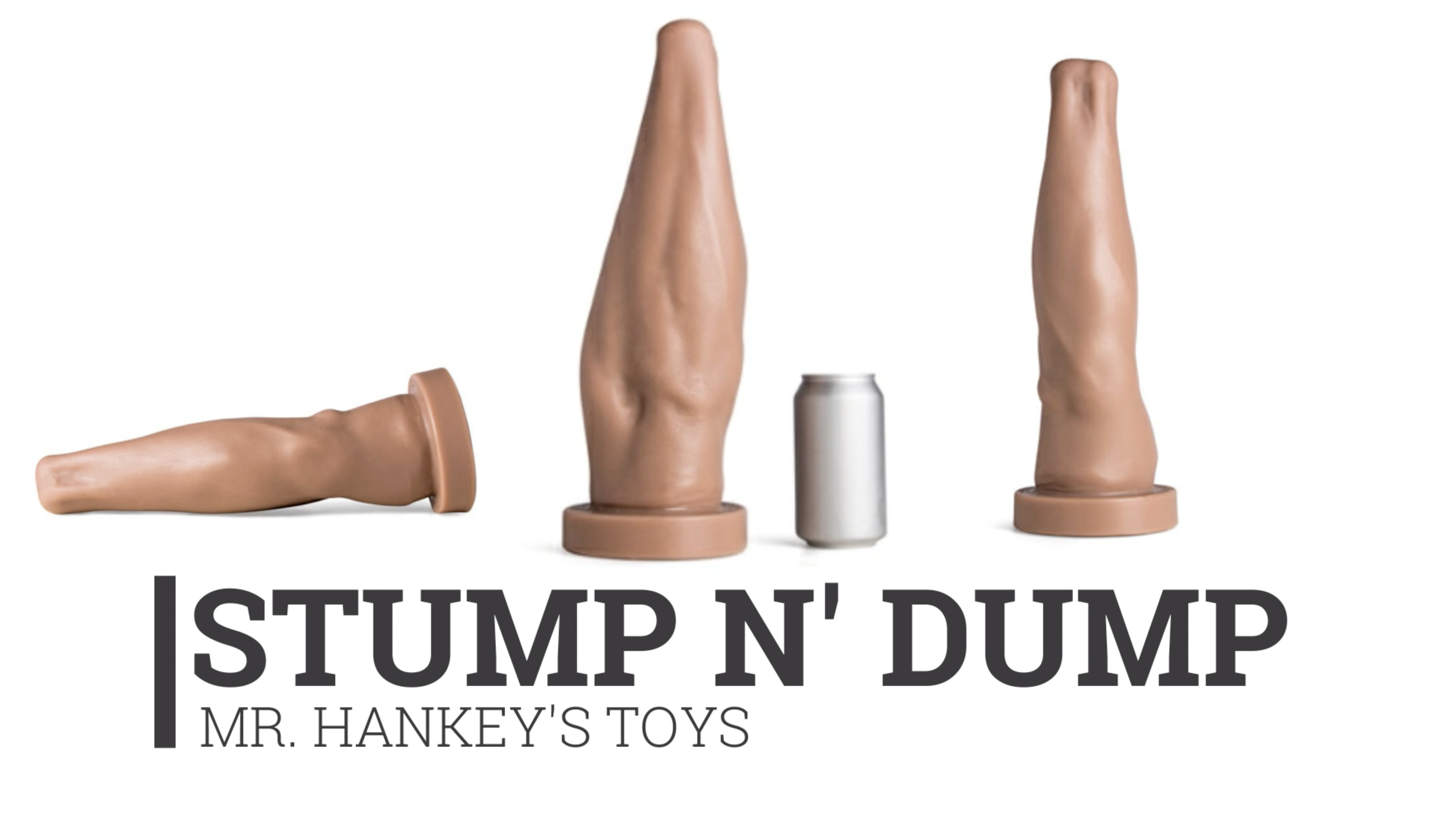 Mr. Hankey's Arm The Stump n' Dump – A Great Toy for Fisters who want to Experience The Elbow