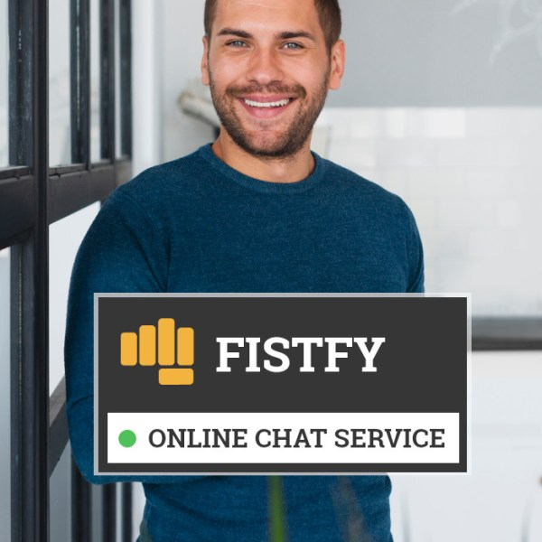 Fistfy Online Chat Service open 24/7