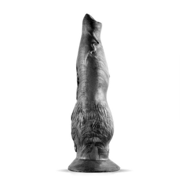 Sinnovator Lone Wolf Platinum Silicone Dildo 7 Inches