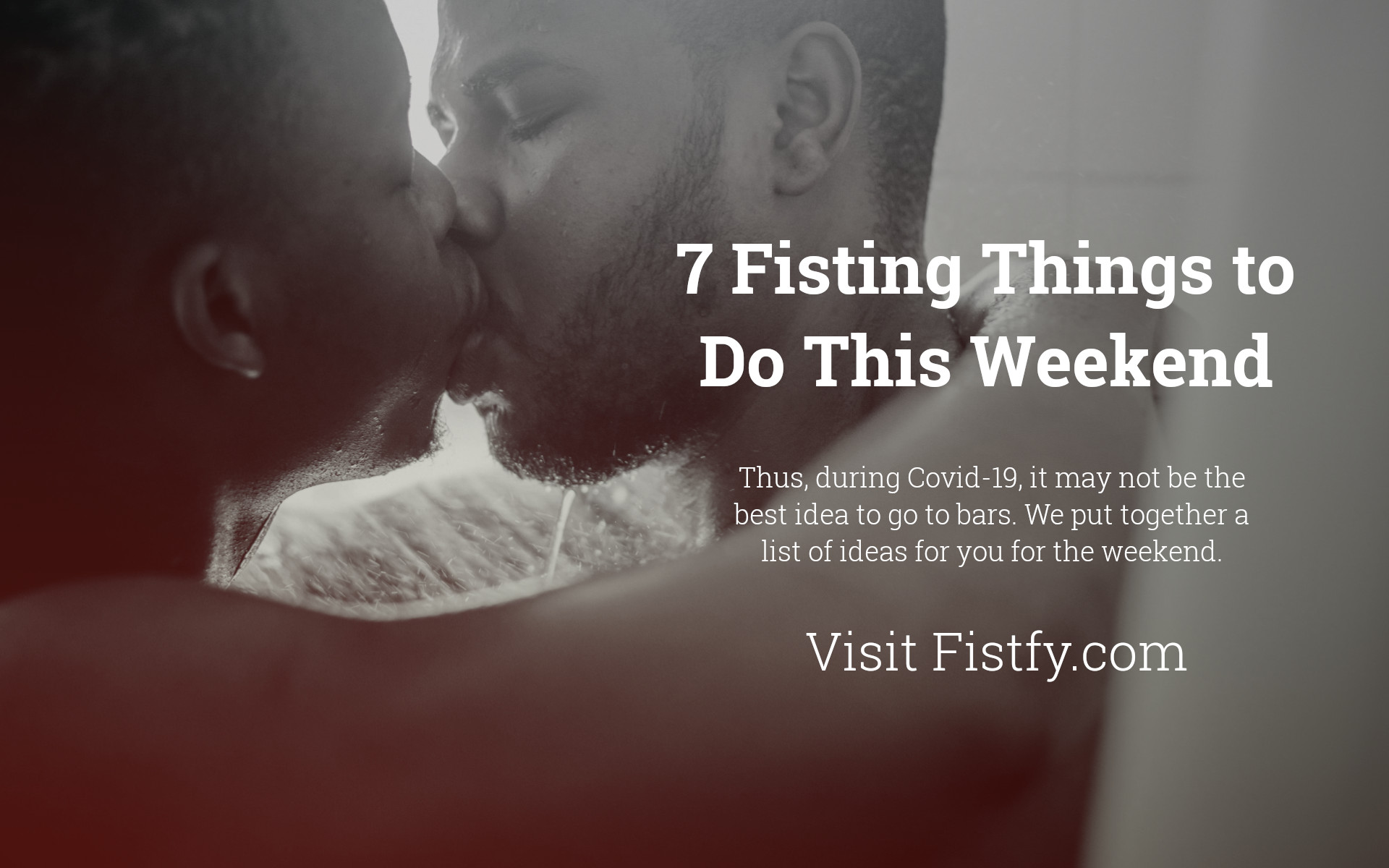 fisting-things to weekend