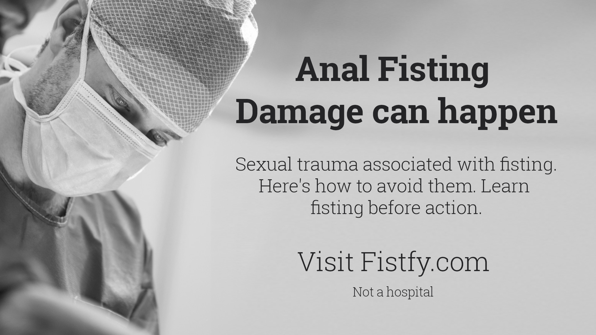 Anal Fisting Damage can happen. Sexual trauma associated with fisting – The Ugly Truth about Anal Fisting