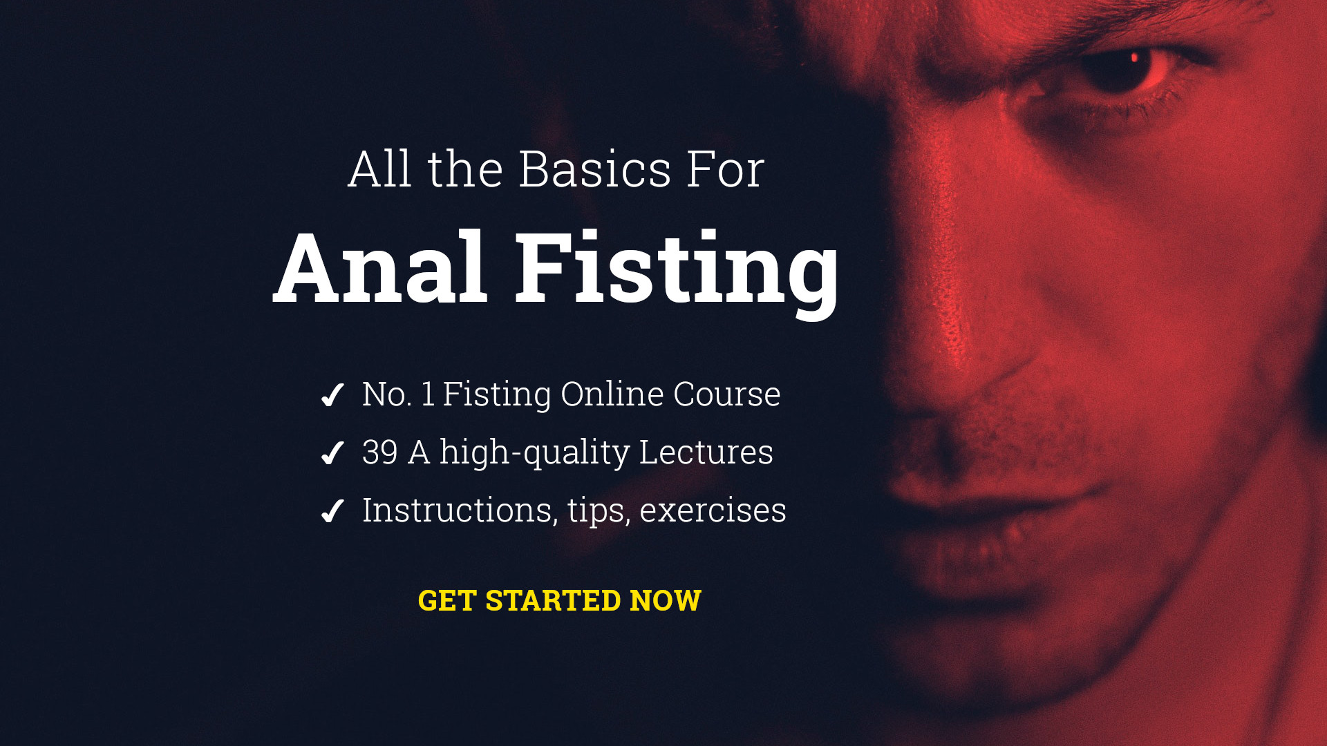 All the basics for anal fisting