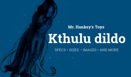 Brand-new Mr. Hankey's Toys Kthulu Dildo – You can hear the calling of Kthulu to your hole… All specs, sizes, colors, images + video