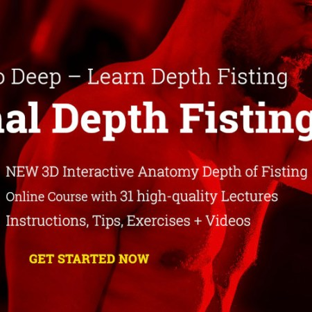 GO DEEP – Learn Depth Anal Fisting