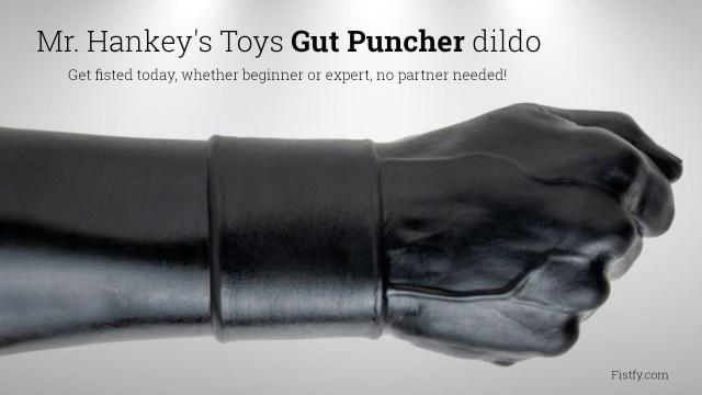 Mr. Hankey's Toys Gut Puncher Fist dildo