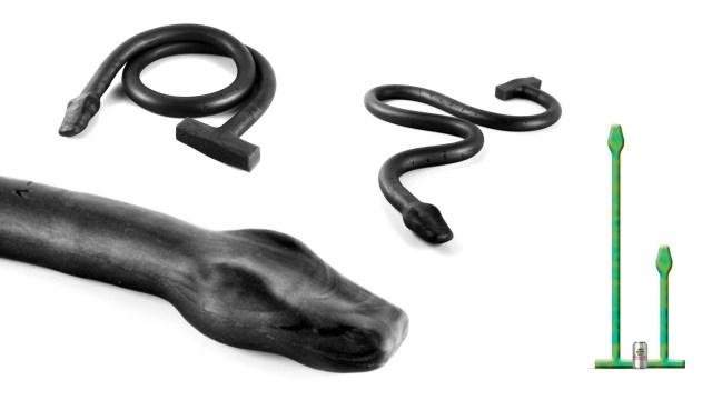 There's no disputing the Sinnovator Basilisk Anal Snake has depth!