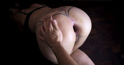 Anal Gape For Argendana After Extreme Dildo Fuck and Double Anal Fisting
