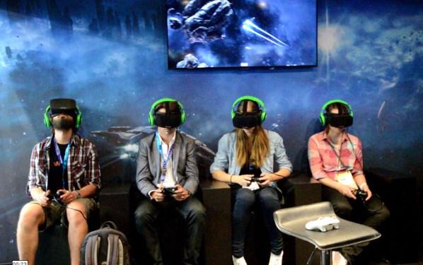 Eve Valkyrie Demo on Oculus Rift