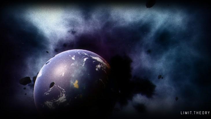 Limit Theory Wallpaper - Dark Planet