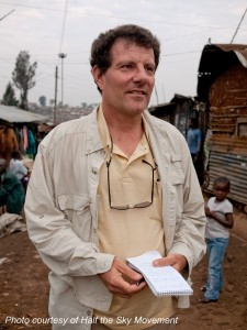 Photo of Nicholas Kristof courtesy of Half the Sky Movement.