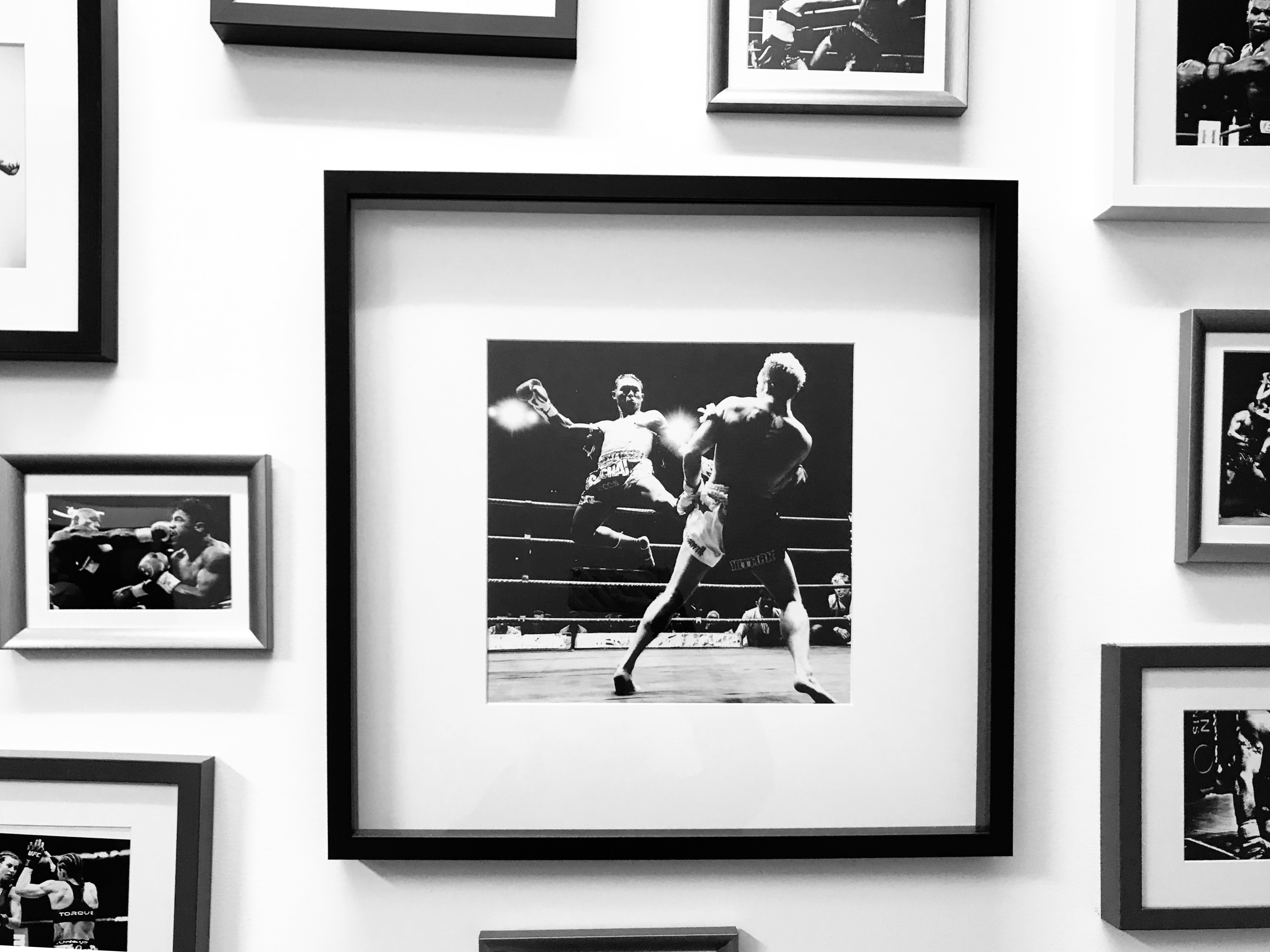 The wall of great fighters
