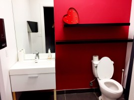 The small and simple washrooms