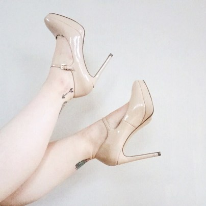 Dancing in heels isn't for the faint hearted