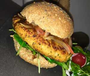 Recette de burger végétarien