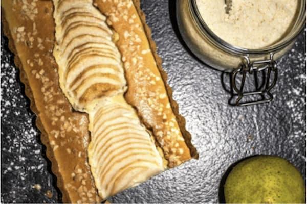 tarte amandine healthy aux poires