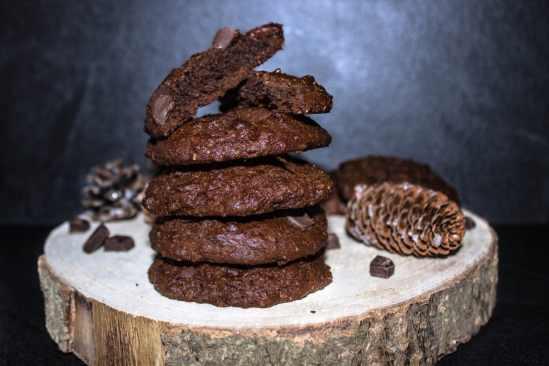COOKIES VEGAN BANANE CHOCOLAT 2