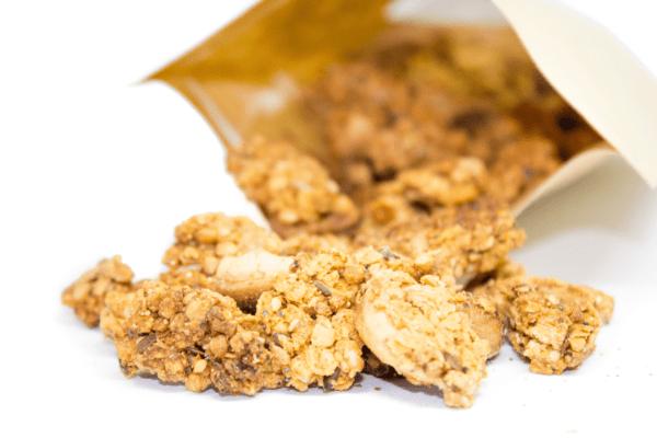 Granola paprika vegan