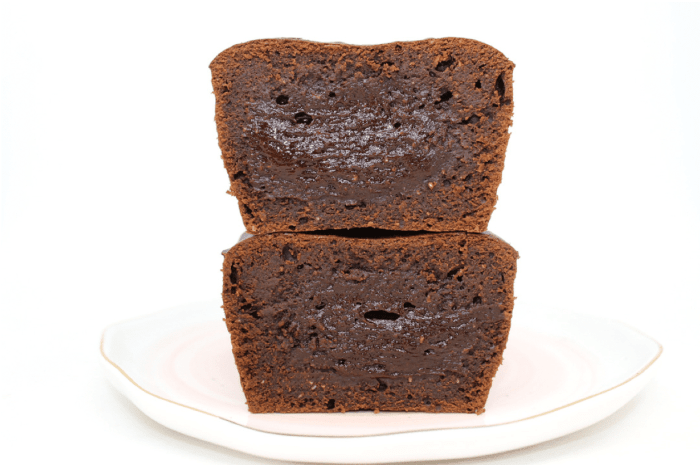 Cake fondant au chocolat sans gluten