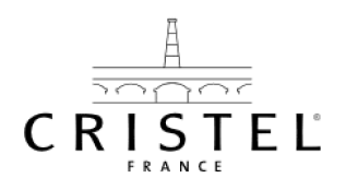 logo Cristel blanc