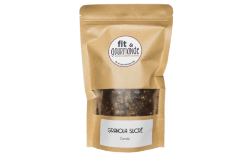 Granola cannelle sans gluten vegan