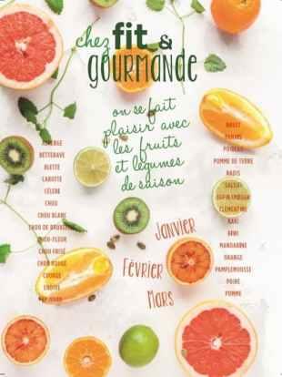 fruits et légumes de saison fit janvier
