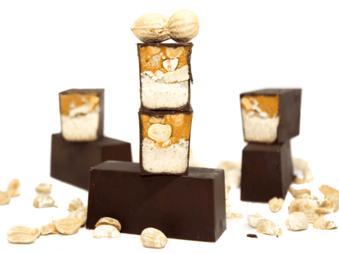 barres cacahuète
