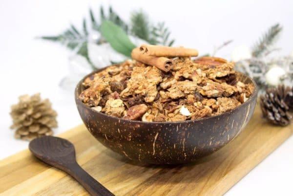 granola de noel