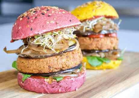 burger vegan fit