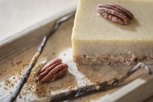 carré vanille vegan sans gluten sans lactose