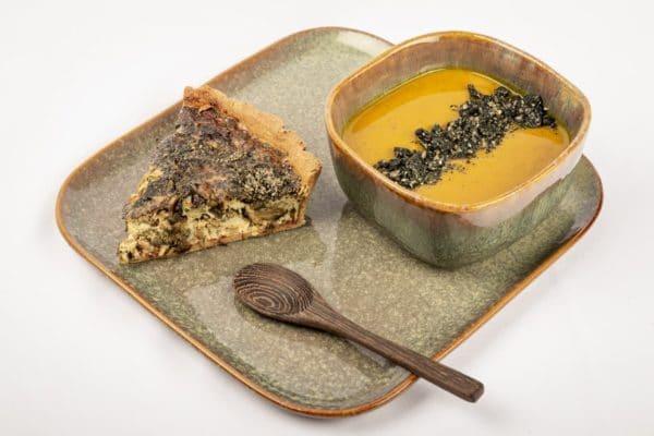 granola sesame noir fenouil topping