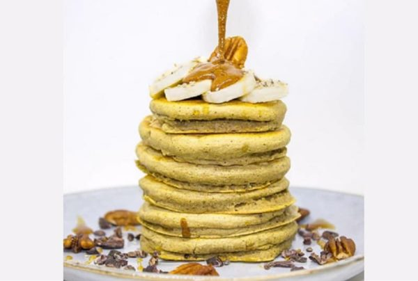pyramide pancakes sucres vegan sans lactose