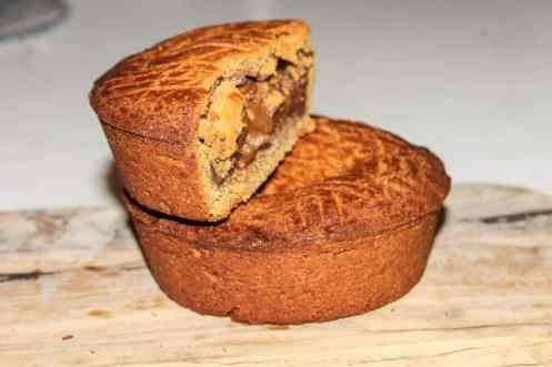 Gâteau basque vegan healthy