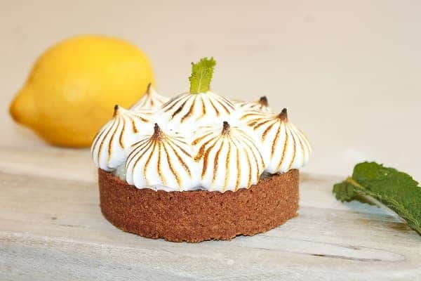 Tarte citron vegan healthy
