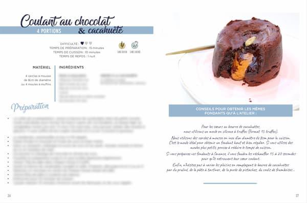 Ebook recette chocolat coulant