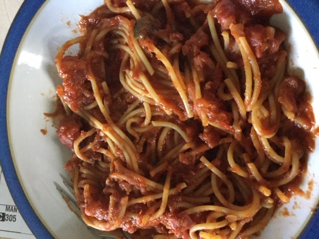 One Pot Spaghetti Dish