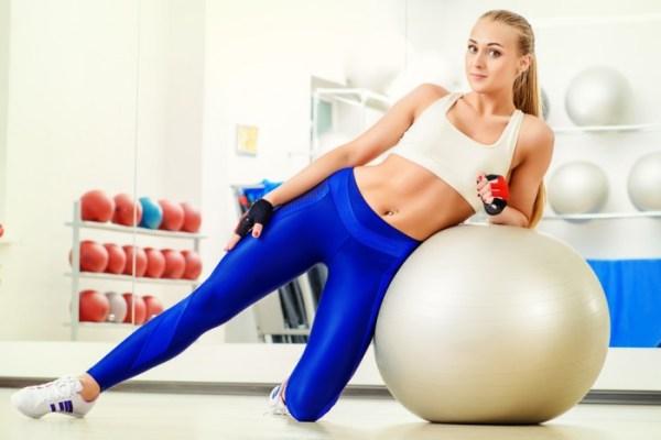 Фитбол для похудения: эффективность, особенности ...