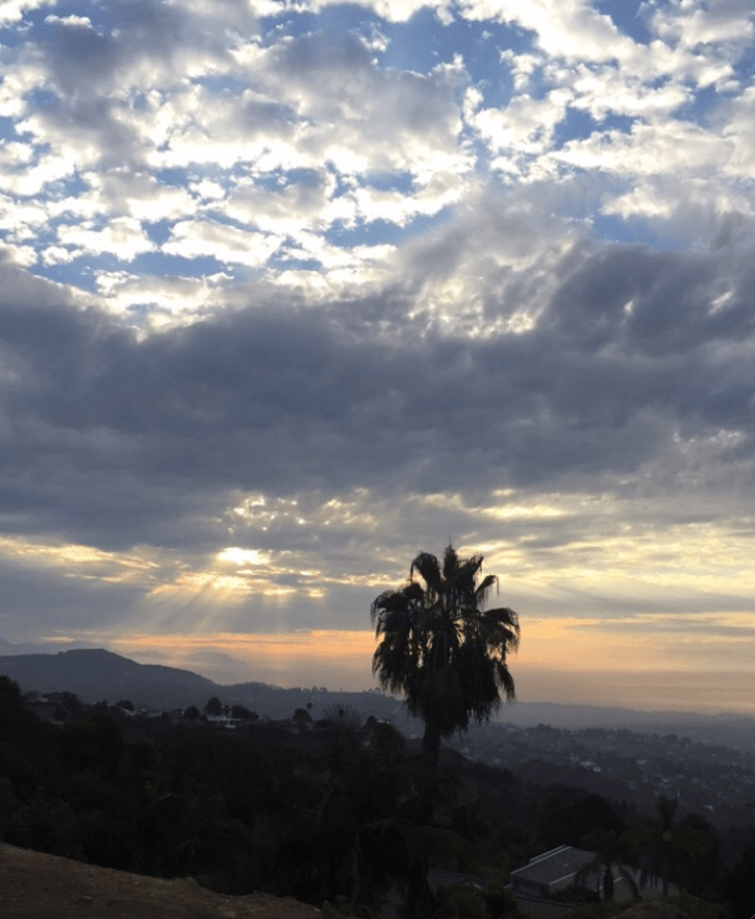 Sunrise Runyon Canyon
