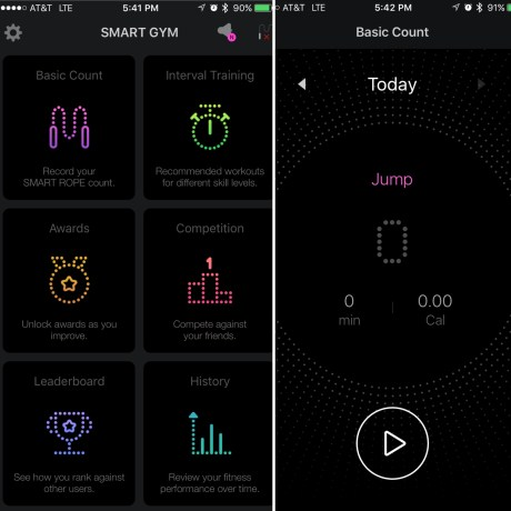 Smart Gym Pro App On Phone