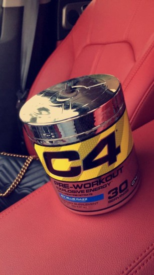 'C4 PRE-WORKOUT' by Cellucor ( Icy Blue Razz flavor)