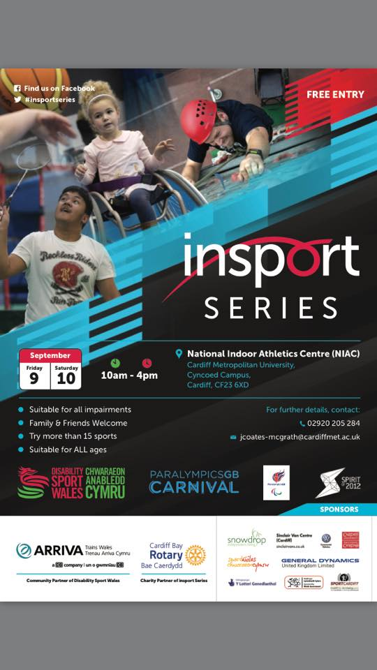 Disability Sport Wales' Insport Series