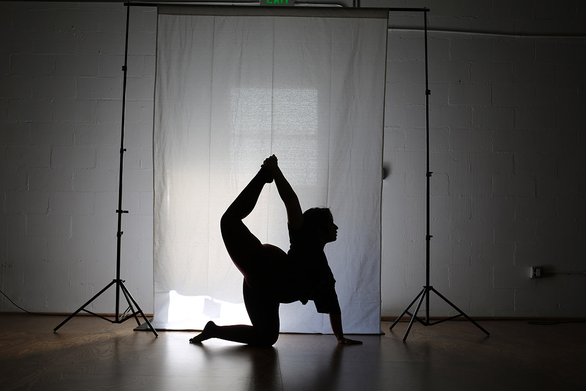 Curse of the Bendy Lower Back Fit and Bendy Man Bending Silhouette