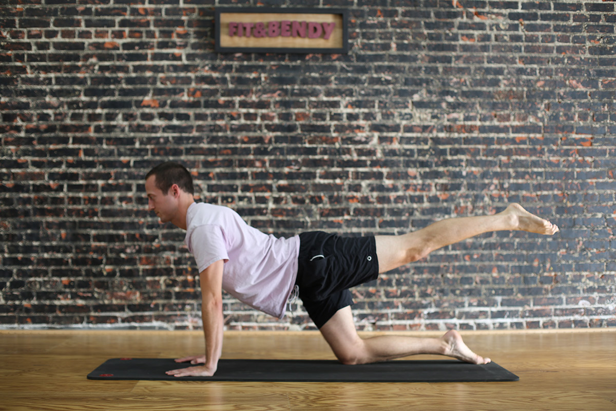 How to Get More Flexible After Injury Man Stretching Yoga Fitness Mat