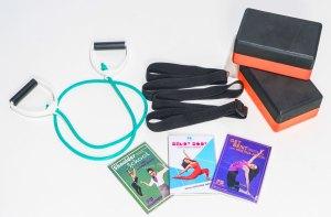 Fit and Bendy Starter Kit Tension Cord DVDs Shoulder School Get Bent Bendy Body Kristina Nekyia