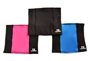 High Performance Back Warmer Fit and Bendy Pink Blue Black