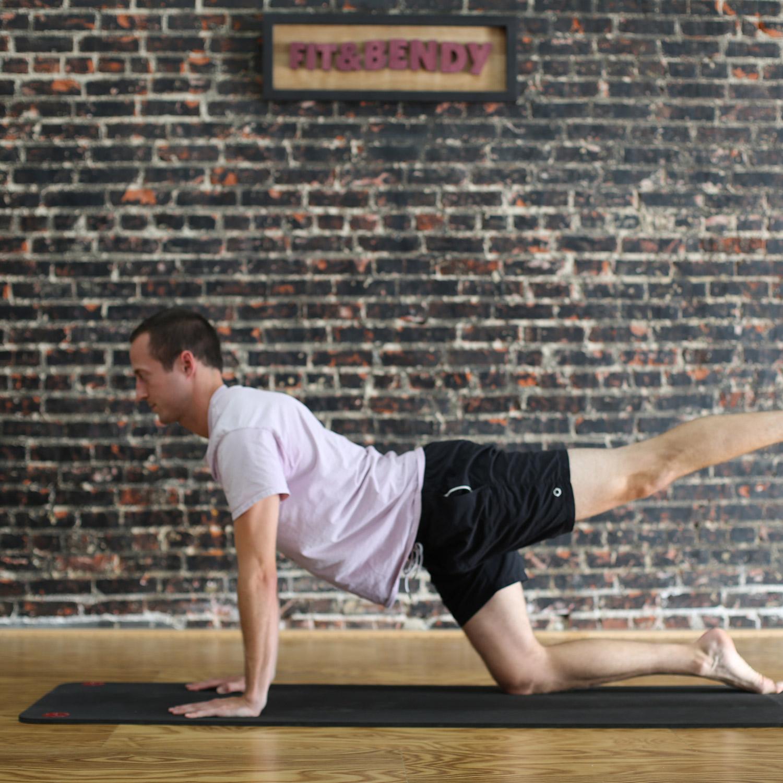Pilates Fit and Bendy Studio Yoga Mat Man