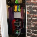 Fit and Bendy Studio Space Closet Fitness Equipment Gear