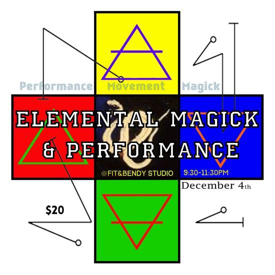Elemental Magick Workshop Fit & Bendy