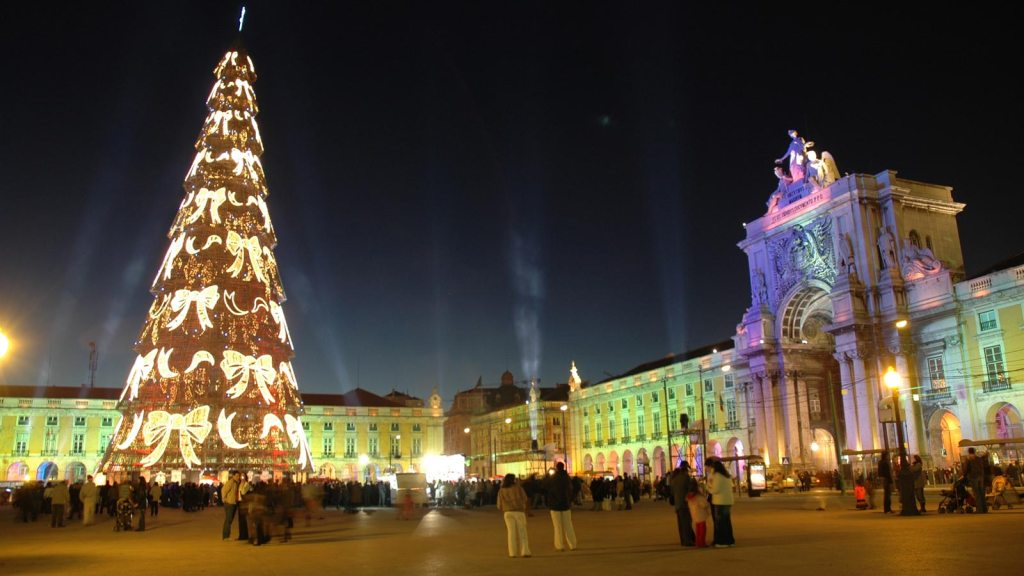 Christmas Lights and Lisbon Delights
